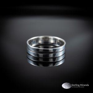 Zilveren ring, Ingezaagd, Handgemaakt, Handmade, Zilver, Sterling, 925