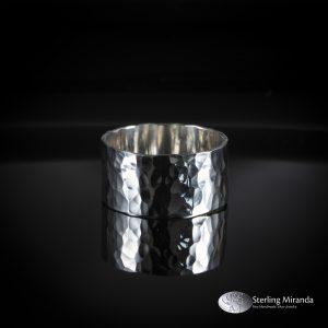 925, Gehamerd, Gehamerdering, Handgemaakt, Handmade, Sterling, Zilver, Zilverenring